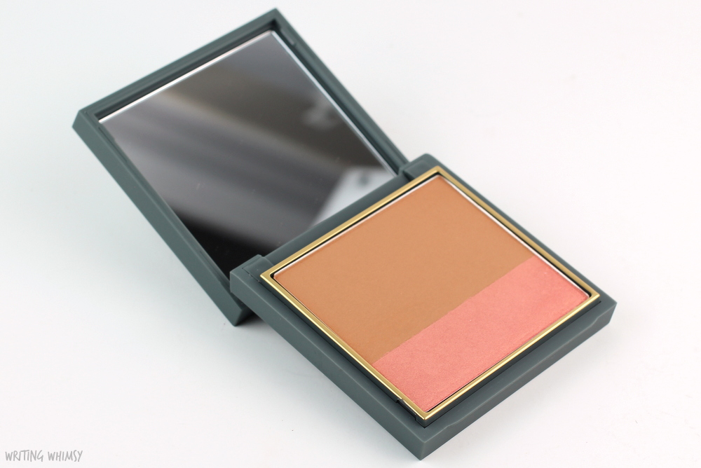 MAC Zac Posen Powder Blush Duo in Haute Contour Swatches and Review 2