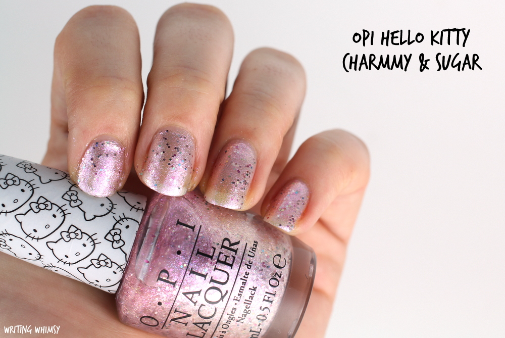 OPI Hello Kitty Charmmy & Sugar Swatch