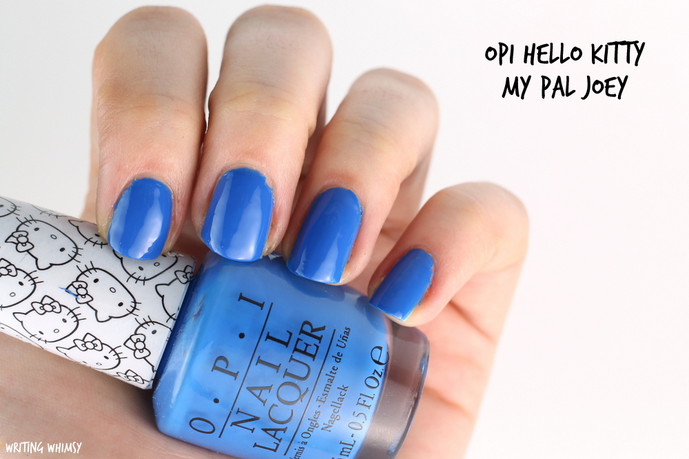 OPI Hello Kitty My Pal Joey Swatch