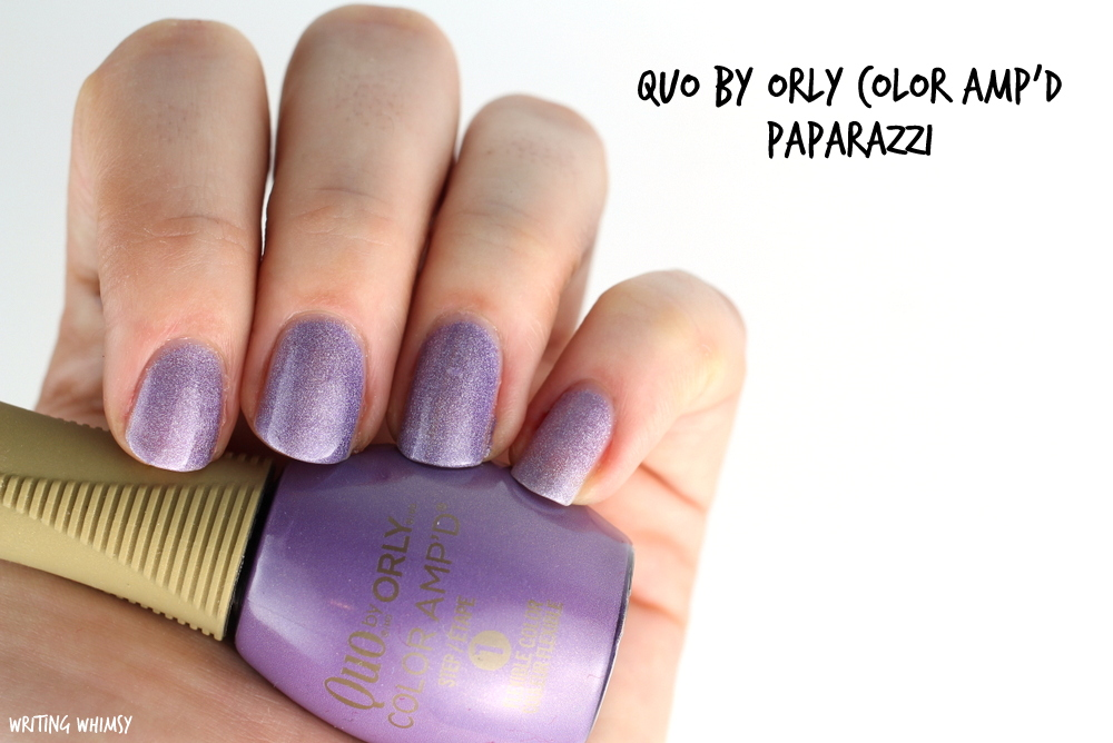 Quo by Orly Color Amp'd Paparazzi Swatches