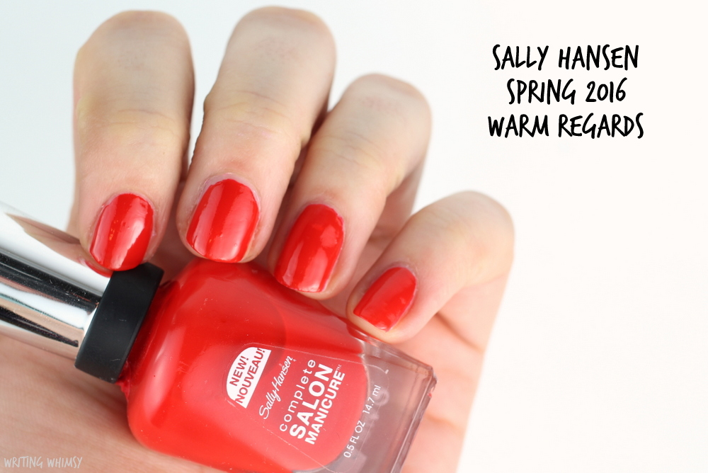 Sally Hansen Complete Salon Manicure Spring 2016 Sally Hansen Warm Regards Swatch
