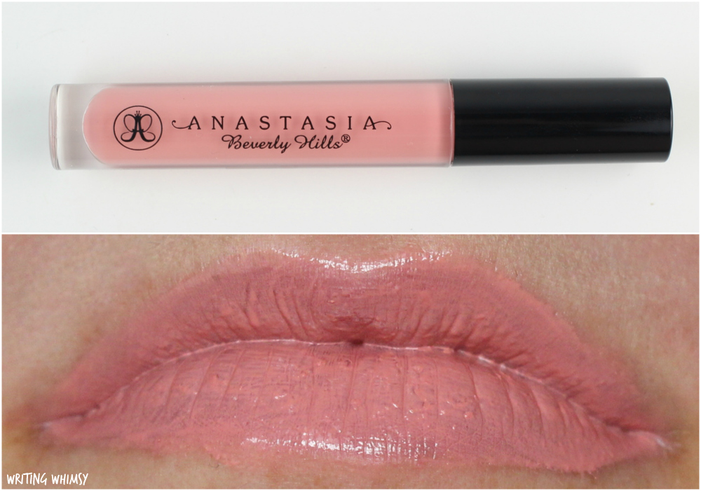 Anastasia Beverly Hills Lip Gloss in Dainty Review + Swatches