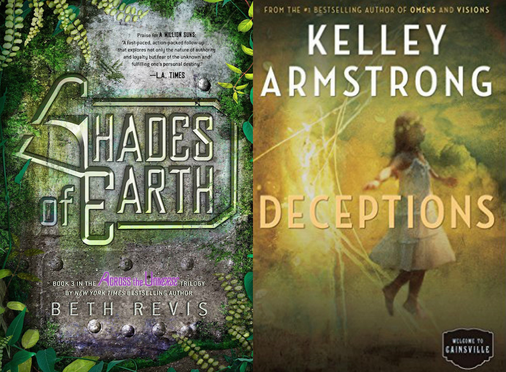 Books I've Read Shades of Earth by Beth Revis & Deceptions by Kelley Armstrong