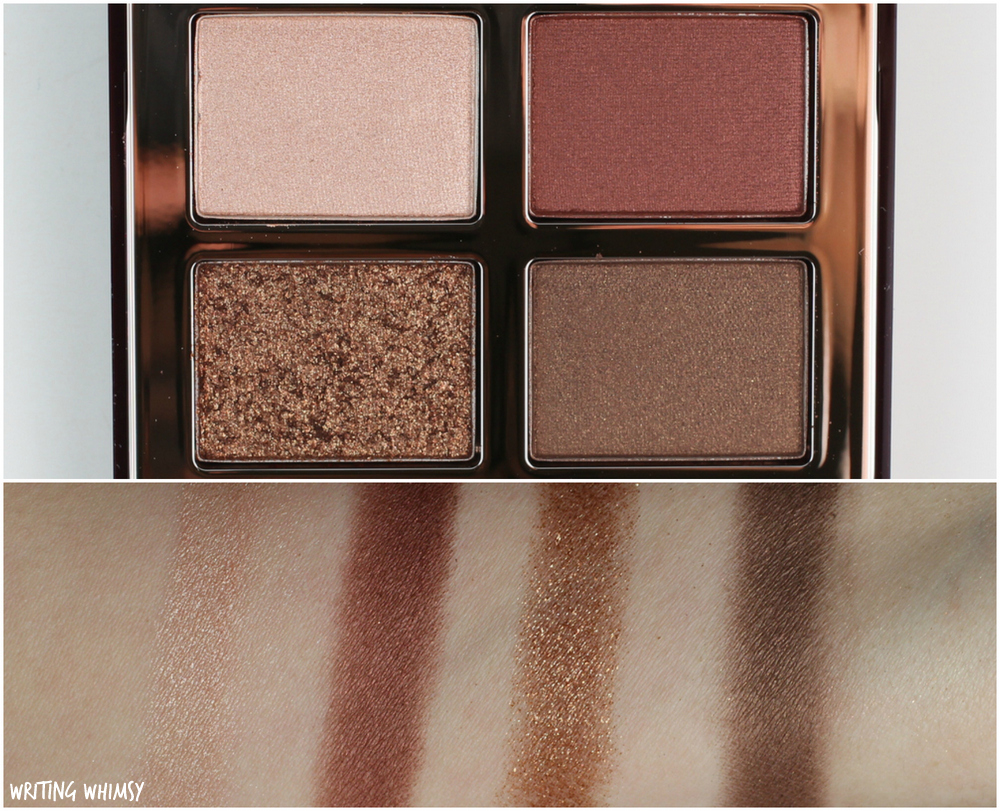 Charlotte Tilbury Dolce Vita Eyeshadow Quad Swatches and Review 3 4