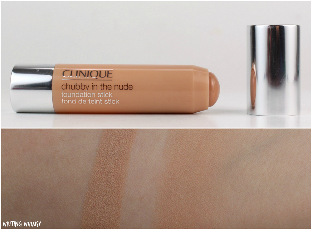 Clinique Chubby in the Nude Foundation Stick in Intense Ivory (06) Swatches