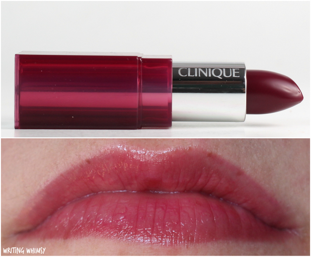 Clinique Pop Glaze Sheer Lip Colour + Primer in Licorice Pop Swatch