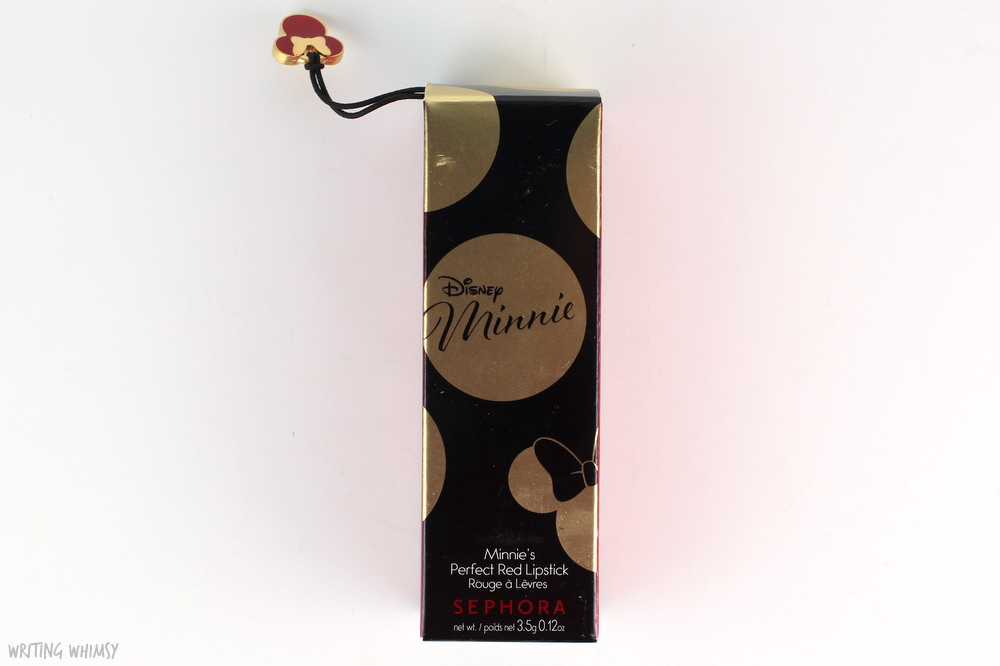 Disney Minnie by Sephora Collection Minnie's Perfect Red Lipstick Swatches 4