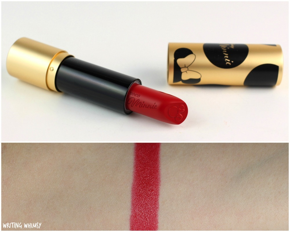 Disney Minnie by Sephora Collection Minnie's Perfect Red Lipstick Swatches