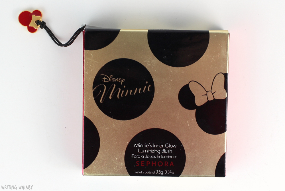 Disney Minnie by Sephora CollectionMinnie's Inner Glow Luminizer Blush Swatches 3