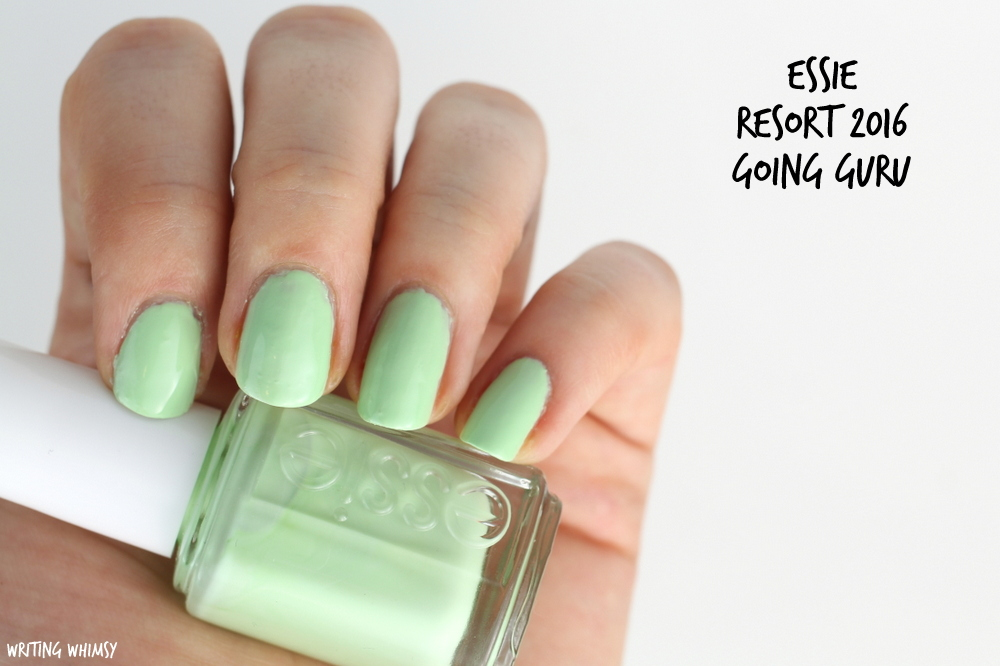 Essie Resort 2016 Essie Going Guru Swatch