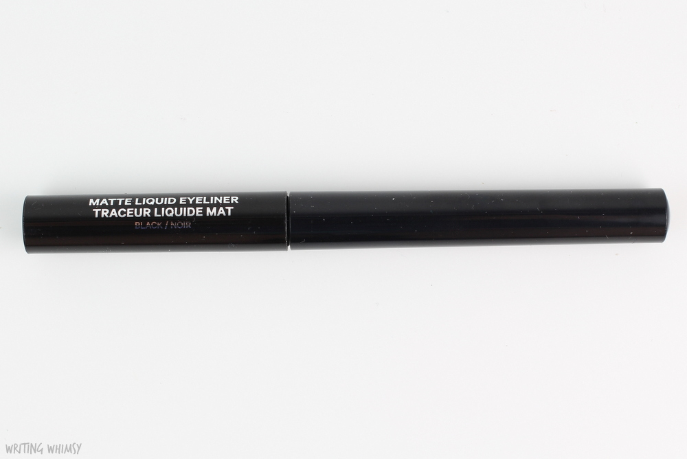 Joe Fresh Matte Liquid Eyeliner in Black Swatch 2