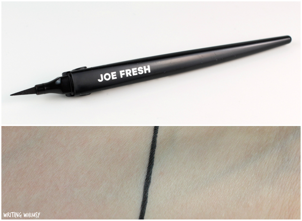 Joe Fresh Precision Liquid Eyeliner in Black Swatches