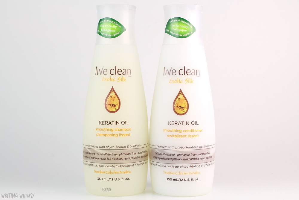 Live Clean Exotic Silk Keratin Oil Smoothing Conditioner Review 2