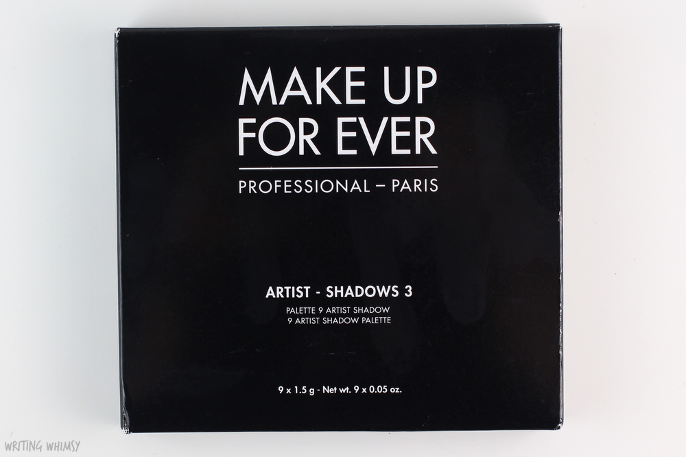 MAKE UP FOR EVER Artist Palette Volume 3 Florals Review 2