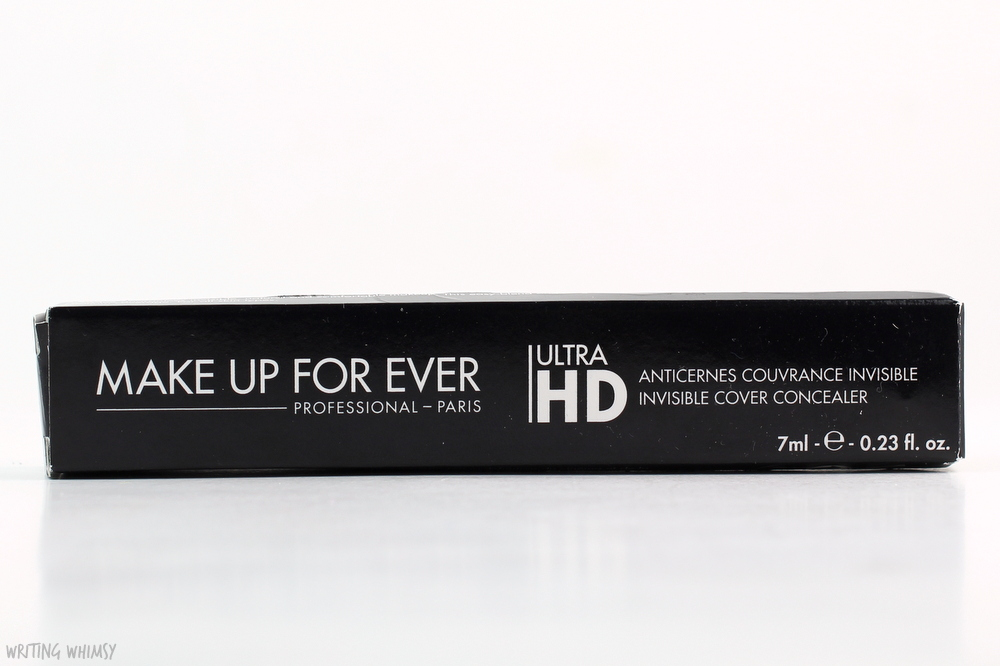 Make Up For Ever Ultra HD Concealer in Y21 Swatches and Review 3