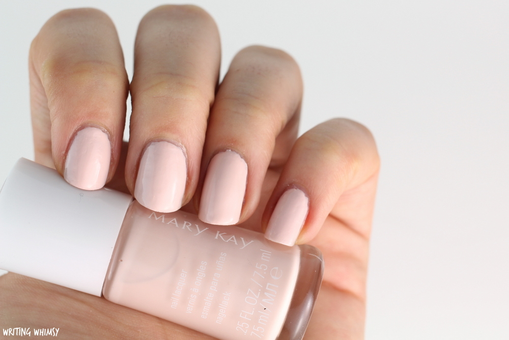 Mary Kay Into the Garden Nail Lacquer Pink Magnolia Swatches