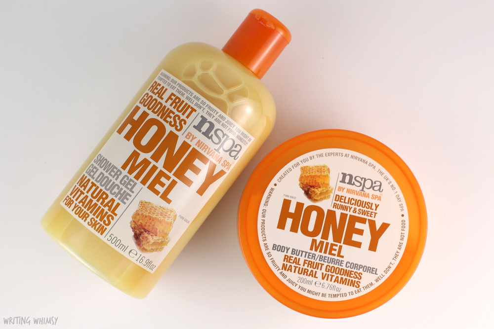 NSPA Honey Shower Gel and Body Butter 4