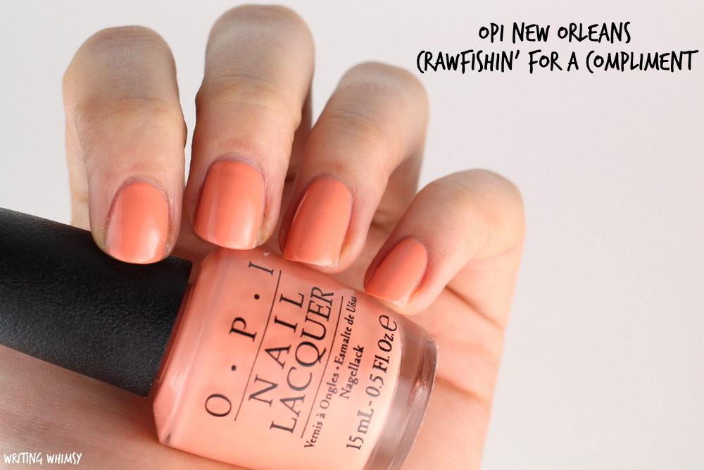 OPI New Orleans Spring 2016 OPI Crawfishin For a Compliment Swatch