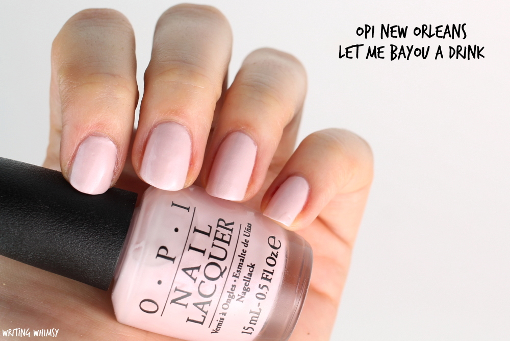 OPI New Orleans Spring 2016 OPI Let Me Bayou a Drink Swatches