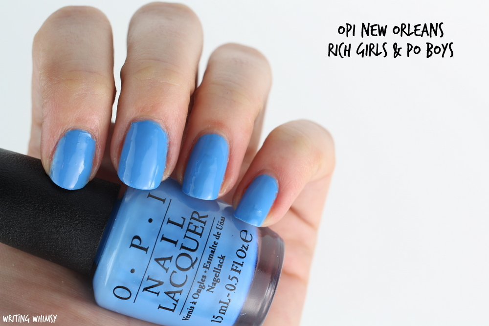 OPI New Orleans Spring 2016 OPI Rich Girls & Po Boys Swatches