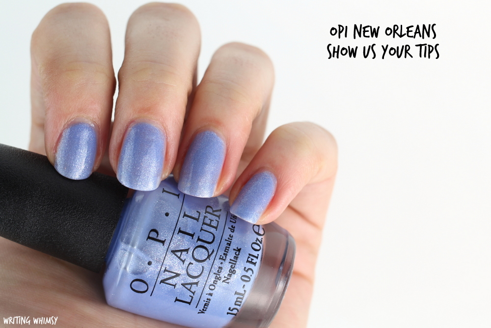 OPI New Orleans Spring 2016 OPI Show Us Your Tips Swatches