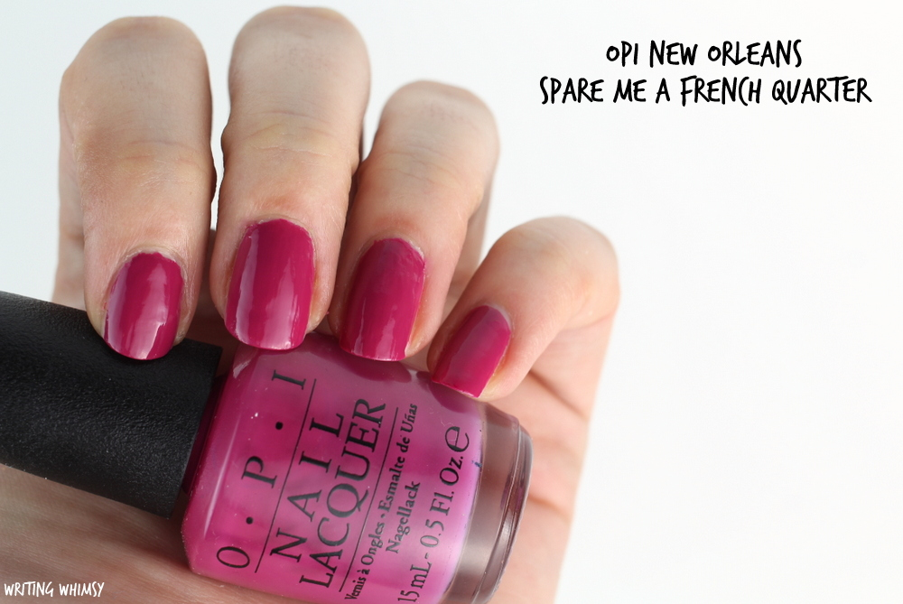 OPI New Orleans Spring 2016 OPI Spare Me a French Quarter Swatches