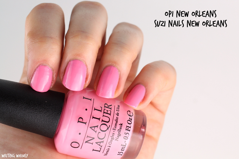 OPI New Orleans Spring 2016 OPI Suzi Nails New Orleans Swatches