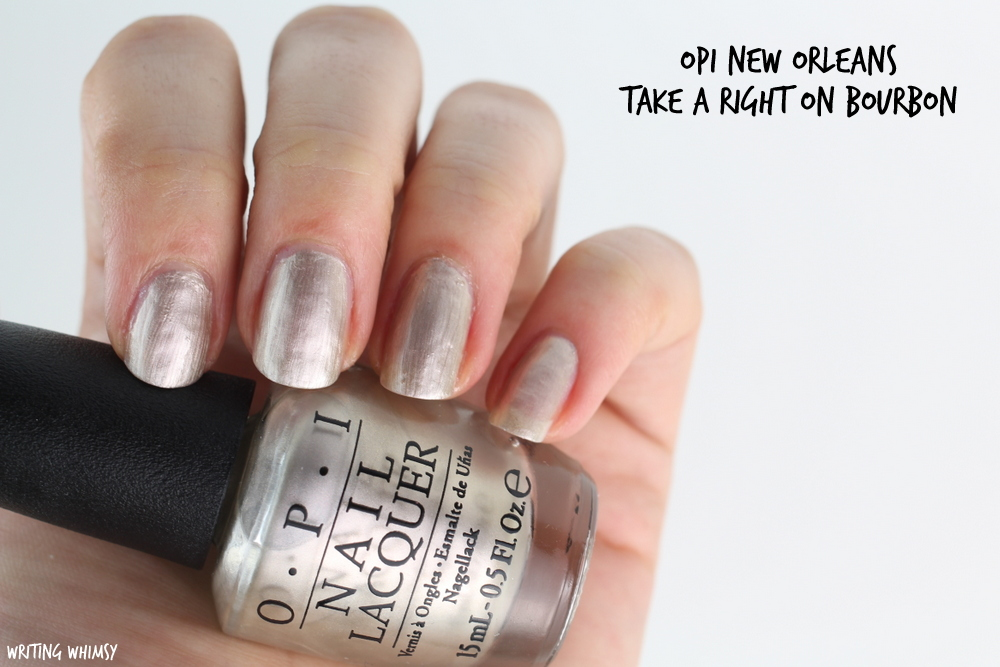 OPI New Orleans Spring 2016 OPI take a Right on Bourbon Swatches
