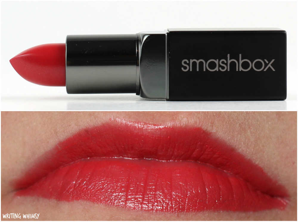 Smashbox Be Legendary Lipstick in LA Sunset Swatch 2