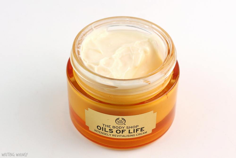 The Body Shop Oils of Life Intensely Revitalising Cream Review 2