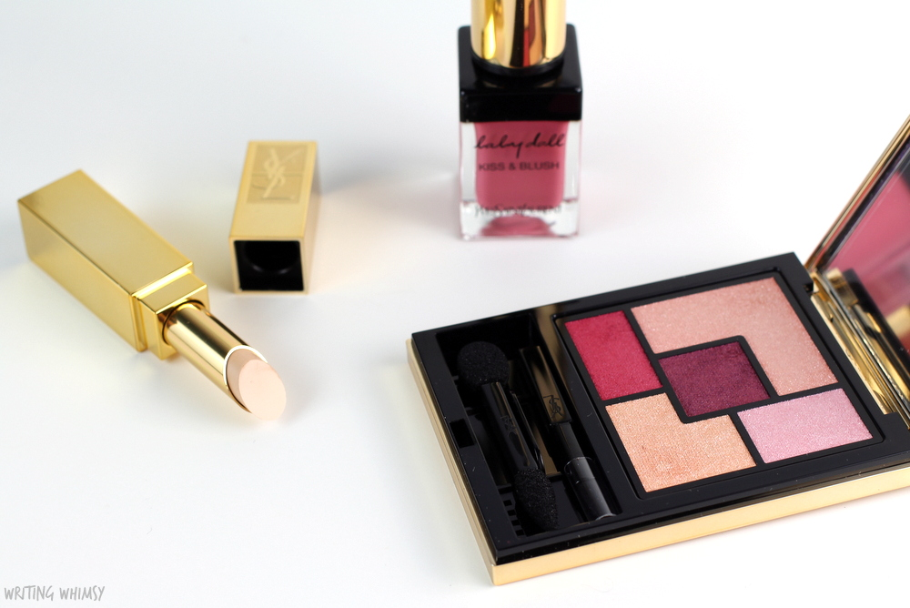 Yves Saint Laurent Baby Doll Kiss & Blush Rose Libre #03 Swatch 5