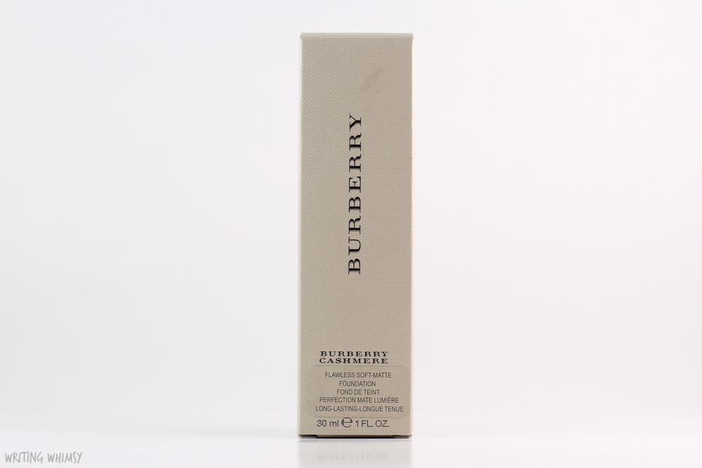 Burberry Cashmere Foundation Review