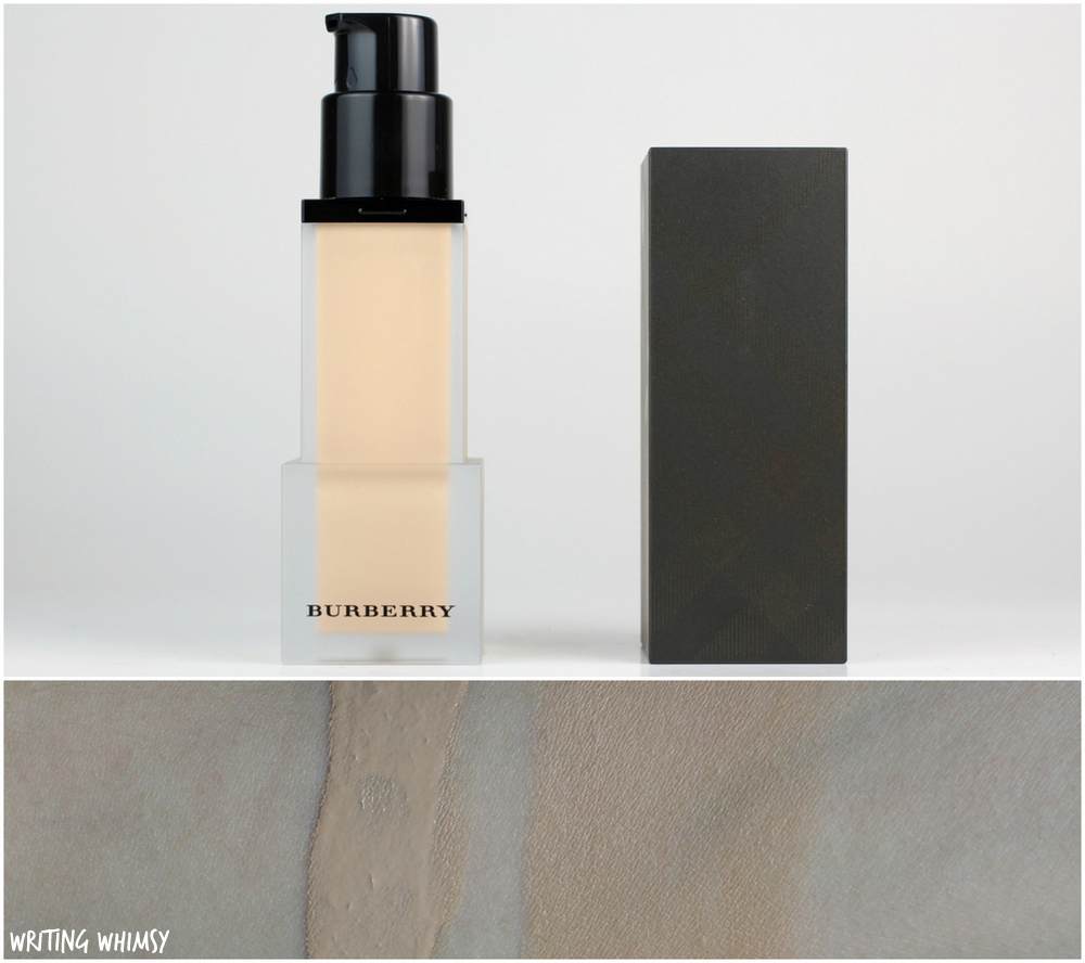 Burberry Cashmere Foundation in Porcelain No.11 Review