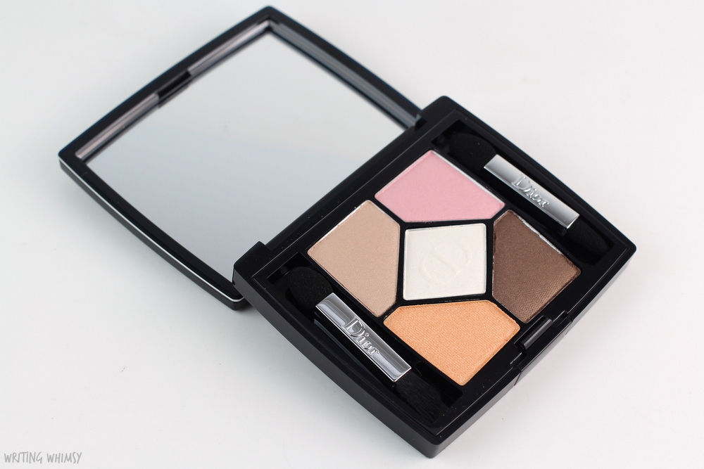 Dior 5 Couleurs Polka Dots Eyeshadow Palette in 536 Escapade Review 2