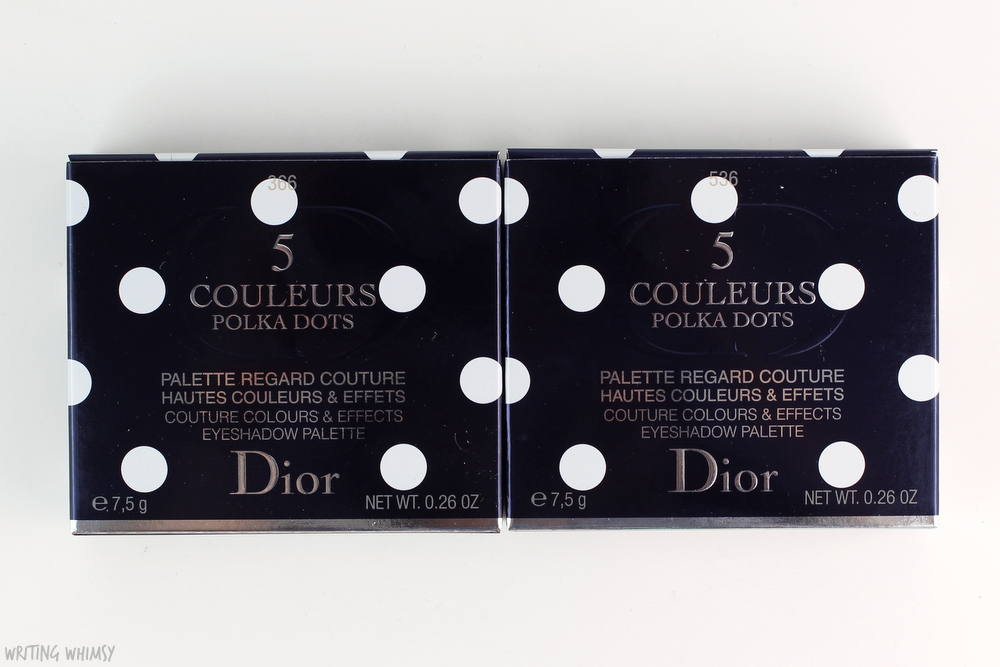 Dior Summer 2016 Dior 5 Couleurs Polka Dots Eyeshadow Palette in 536 Escapade Review