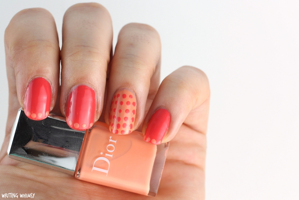 Dior Summer 2016 Dior Polka Dots Colour & Dots Manicure Kit in Confettis Swatches