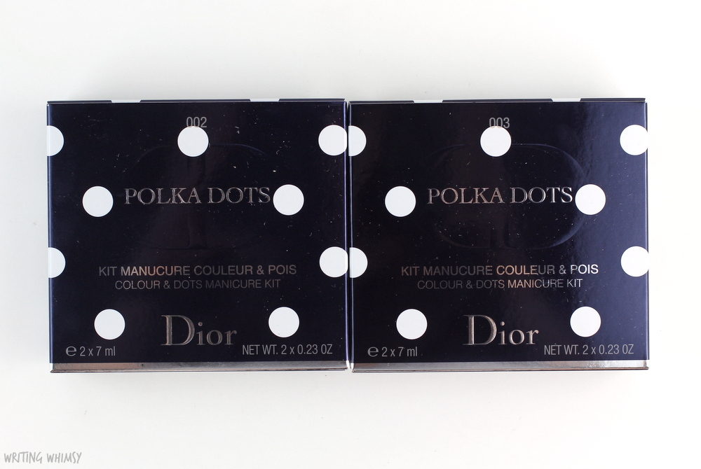 Dior Summer 2016 Dior Polka Dots Colour & Dots Manicure Kit in Plumetis Review + Swatches