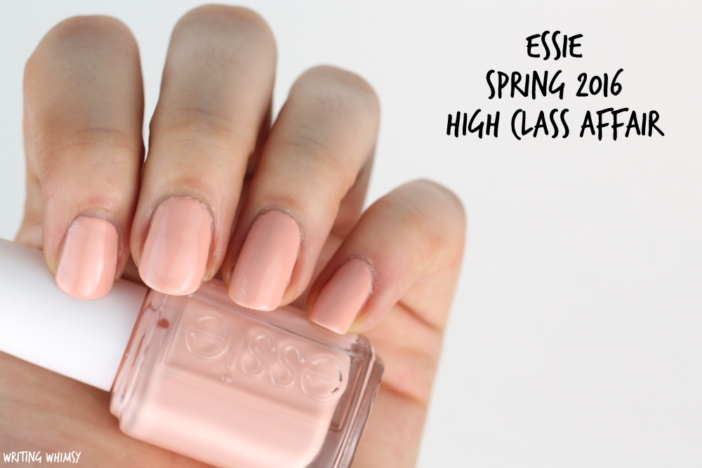 Essie Spring 2016 Essie High Class Affair Swatch