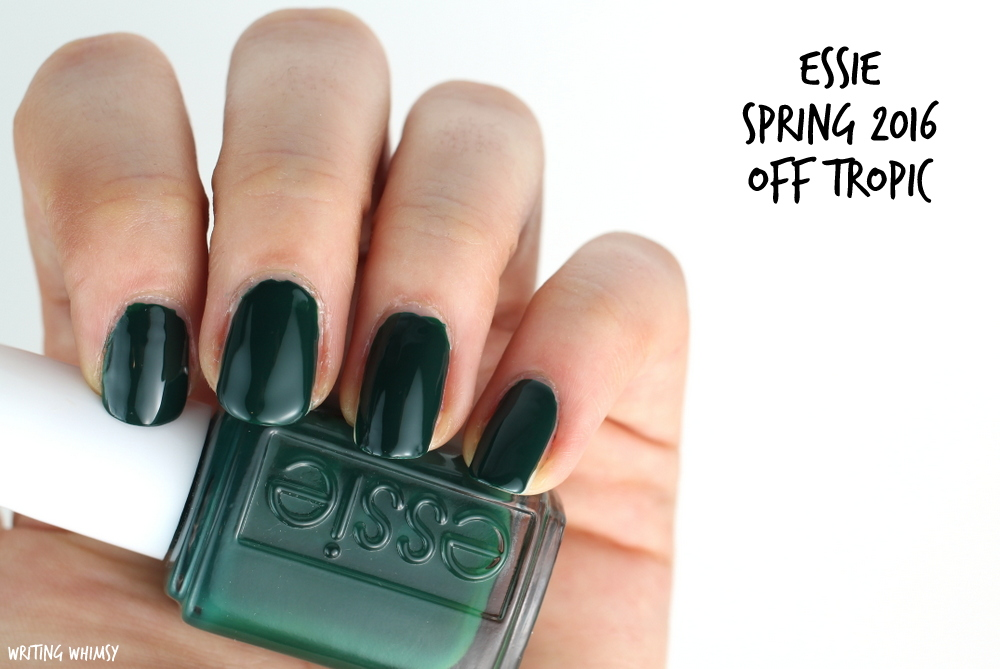 Essie Spring 2016 Essie Off Tropic Swatch