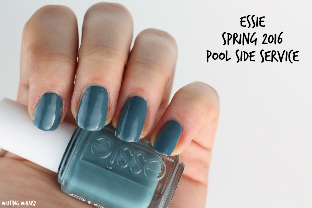 Essie Spring 2016 Essie Pool Side Service Swatch
