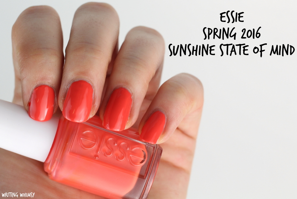 Essie Spring 2016 Essie Sunshine State of Mind Swatch