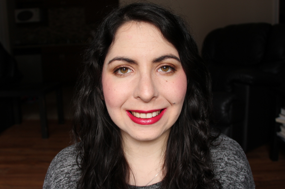 L'Oreal Infallible Pro-Matte Gloss in 312 Rouge Envy Review