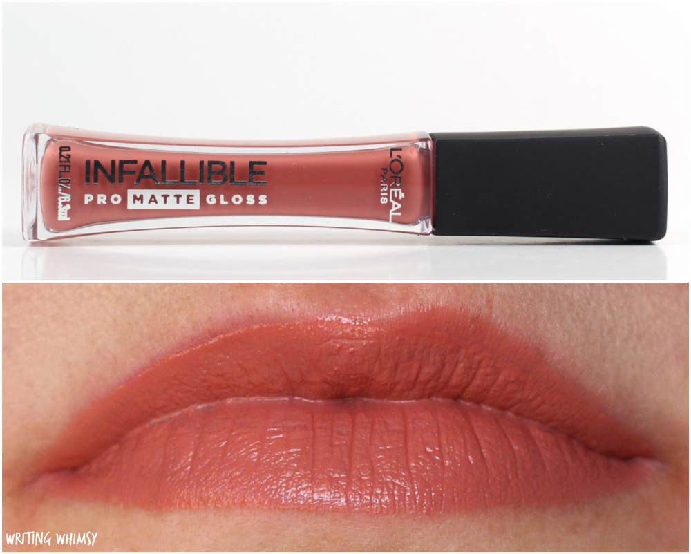 L'Oreal Infallible Pro-Matte Gloss in 318 Bare Attraction