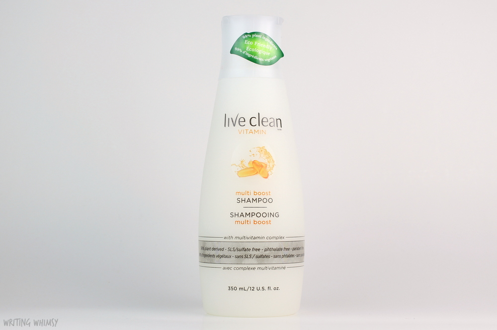 Live Clean Vitamin Multi Boost Shampoo and Conditioner Review 2