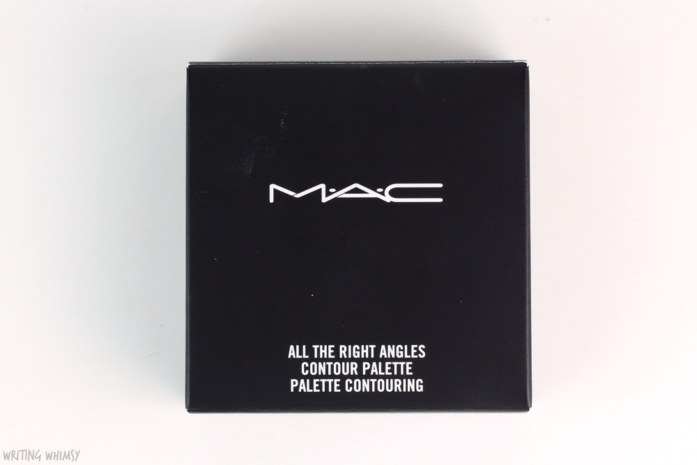 MAC All The Right Angles Contour Palette in Medium Dark Swatches