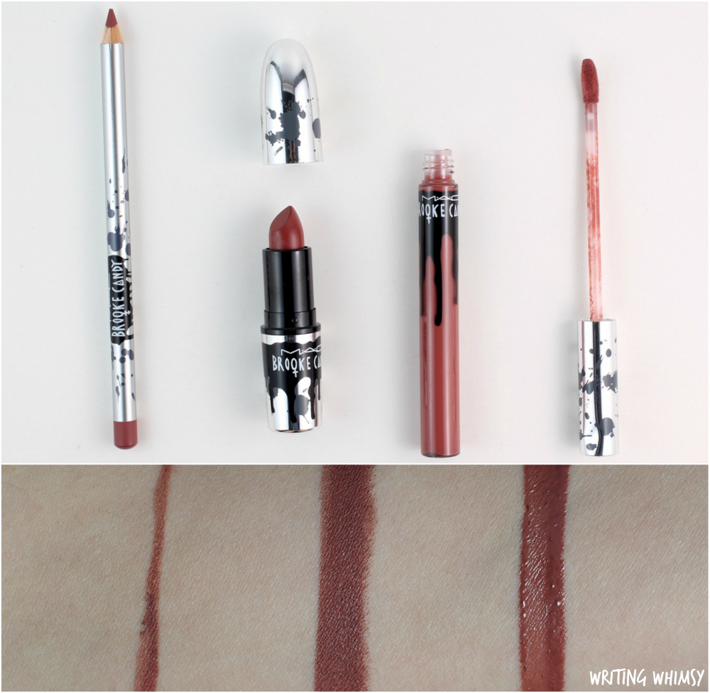 MAC Brooke Candy 2016 Collection Swatches