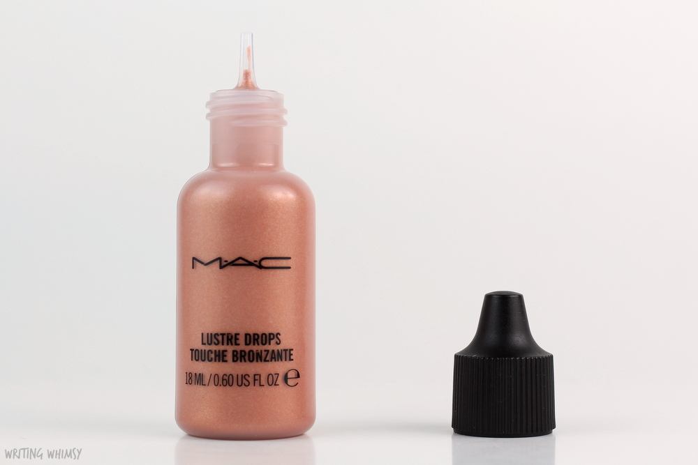 MAC Future MAC Lustre Drops in Barbados Girl Swatch