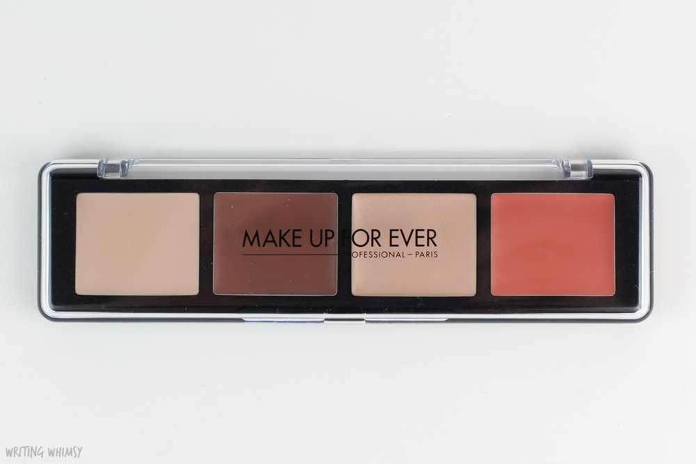 MAKE UP FOR EVER Pro Sculpting Face Palette in 20 Light Review 3