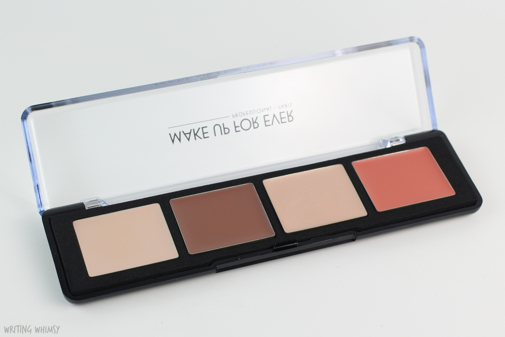 MAKE UP FOR EVER Pro Sculpting Face Palette in 20 Light Review 4