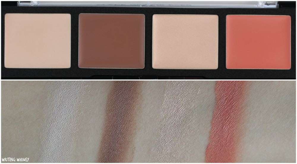 MAKE UP FOR EVER Pro Sculpting Face Palette in 20 Light Review